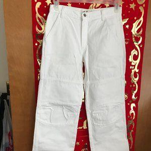 VTG  Express Bleus White Jeans